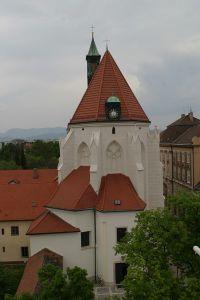 Fassade Kapuzinerkirche Wiener Neustadt