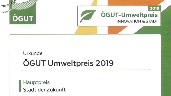 ÖGUT Umweltpreis 2019
