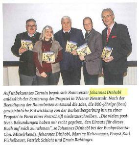 Pressebericht über BM Dinlhobl