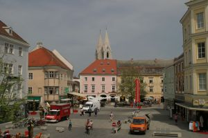 Fassade Schober - Hauptplatz Wiener Neustadt