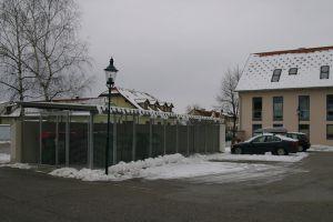 Errichten eines Müllplatzes in Katzelsdorf
