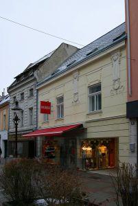 Geschäftsumbau in der Herzog Leopoldstraße Wiener Neustadt
