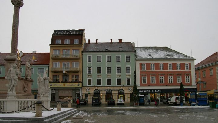 Geschäftsumbau RAIBA Hauptplatz Wiener Neustadt